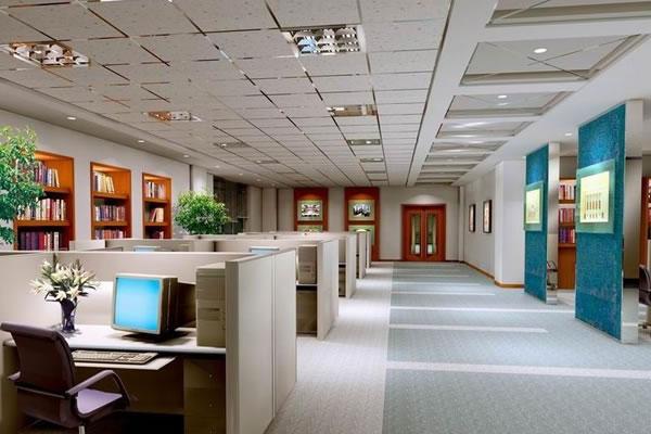 办公室装修设计图-卓创装饰