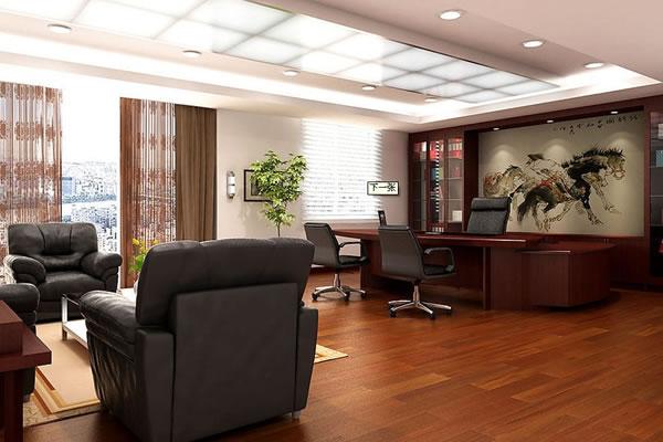办公室装修效果图-合肥卓创装修公司