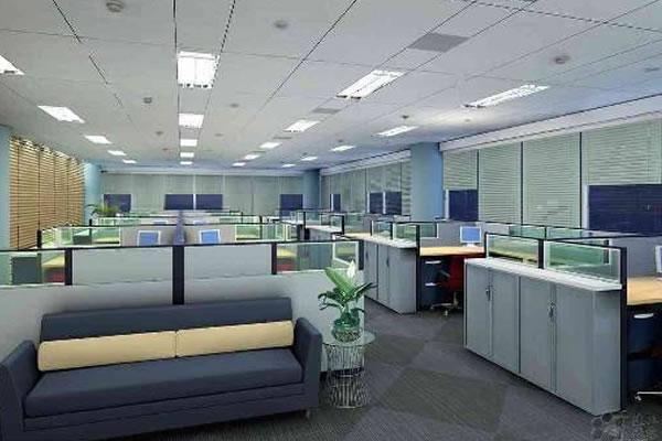 卓创首页 服务项目 办公室装修设计         在办公空间设计中通道的