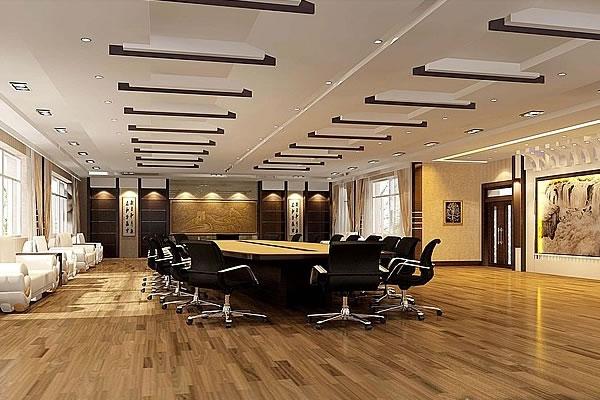 会议室装修效果图-合肥卓创装饰公司