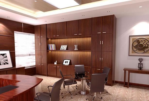 办公室装修-办公室设计效果图-合肥卓创装修公司
