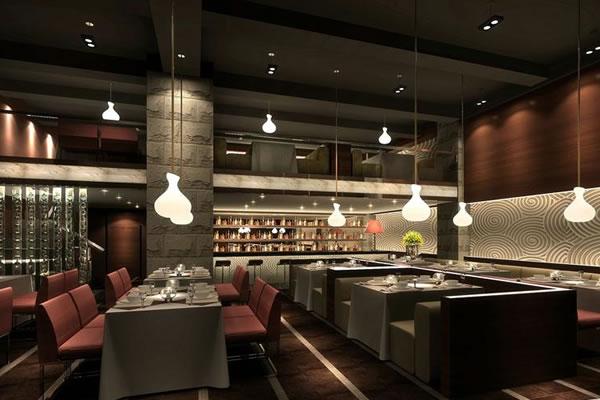 卓创首页 服务项目 办公室装修设计  餐饮店面的人口与橱窗是店面的