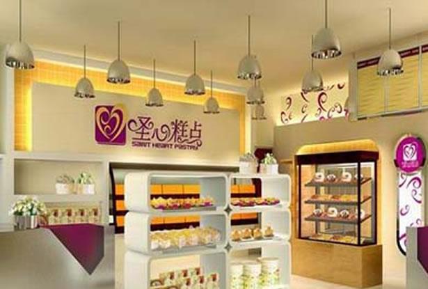 蛋糕店装修效果图-服务项目-卓创建筑装饰