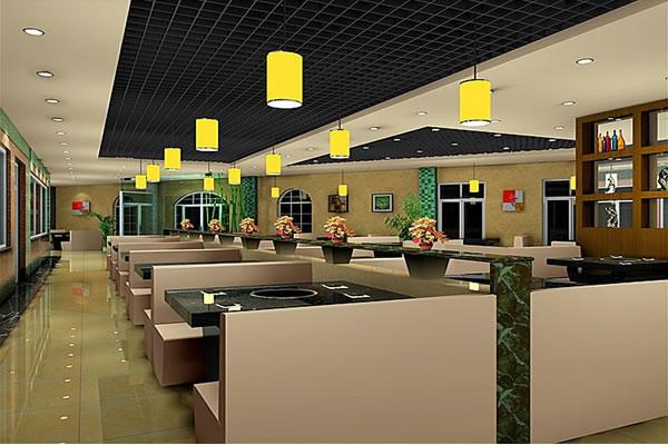 员工餐厅照明电路图
