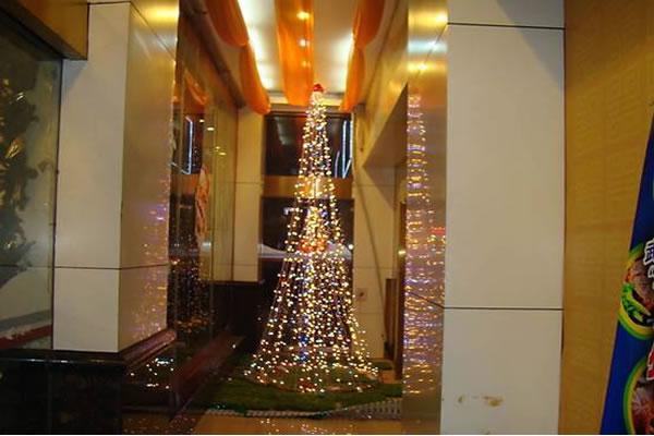 圣诞节酒店装饰设计方案-装修设计-卓创建筑装饰