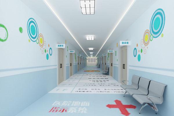 医院墙裙装修效果图 下载 儿童医院走廊设计