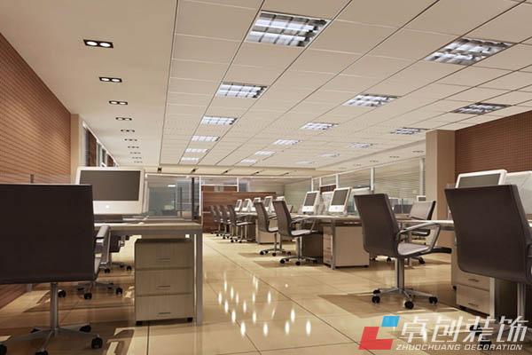 办公室是许多白领们上班工作的地方,而且往往一天有七八个小时甚至更多时间会停留在那里。因此,一个好的办公室不仅可以美观工作环境,也会有利于员工的工作心情和态度。所以在设计办公室时,要注意以下一些设计要素。  现代时尚感 合肥办公室装修一般都会采用开放式的设计理念,这样的空间共享已经成为了办公室设计的主流。这种设计便于员工之间相互沟通和交流,也方便管理。同时,加入一些绿色概念,这样就给办公室增添了一种生机和自然的理念。使员工工作的舒适。 空间感 一个良好的布局会给整个空间营造一种空间感,这就要求色调与家具、天