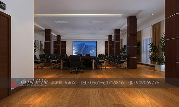 安徽大学宿舍楼大厅及会议室装修设计