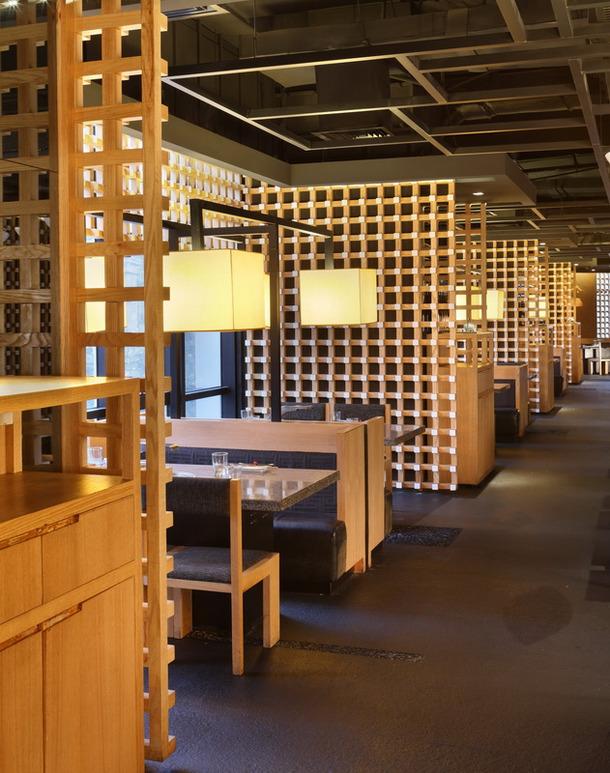 餐饮店装修效果图 服务项目 卓创建筑装饰