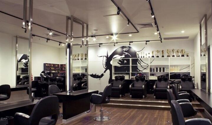 合肥美容美发店装修设计图片