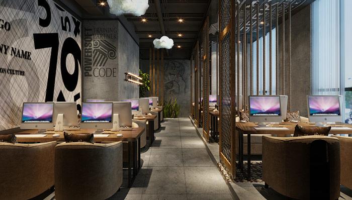 网咖网吧装修设计案例