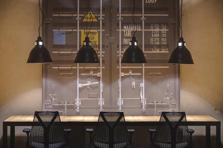 工业风格办公室装修设计-卓创装饰