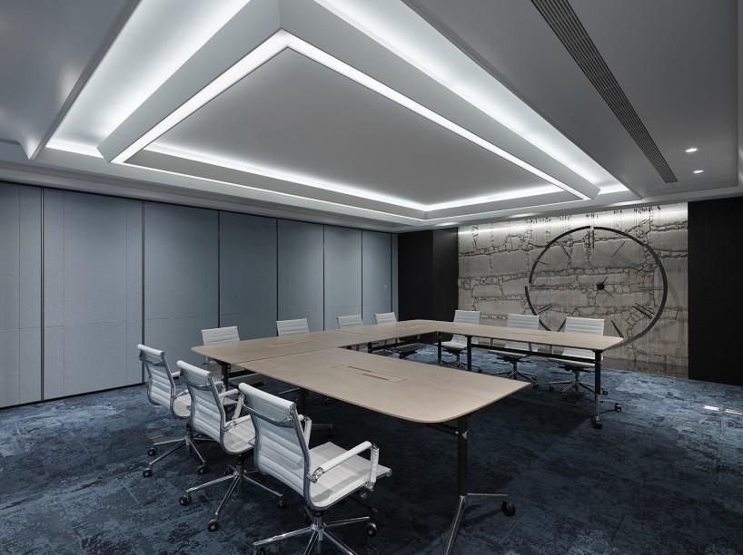 合肥办公室装修效果图-卓创装饰