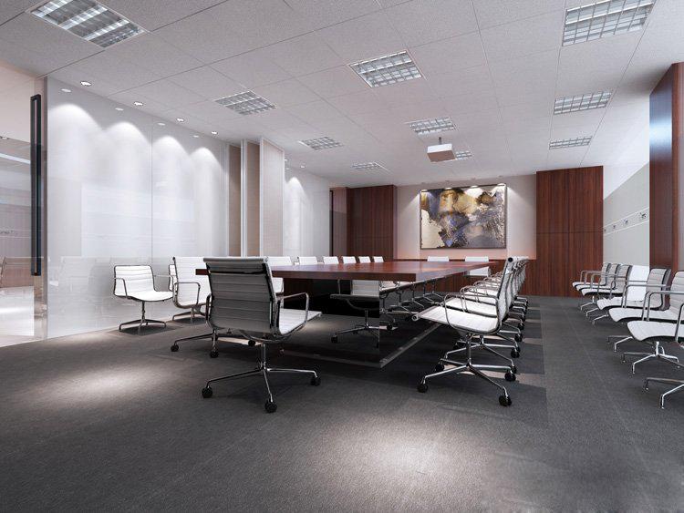 会议室装修设计图-卓创装饰