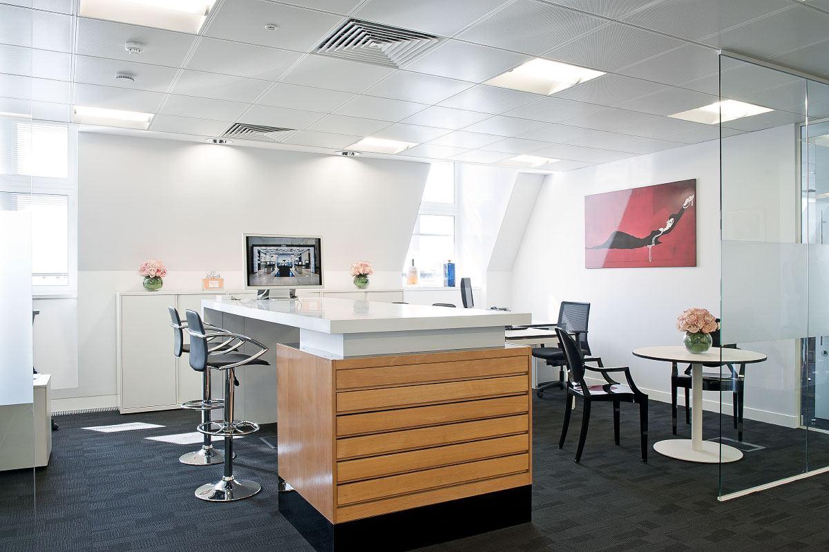 合肥办公室装修设计效果图-高端绿色办公装修公司-卓创装饰公司