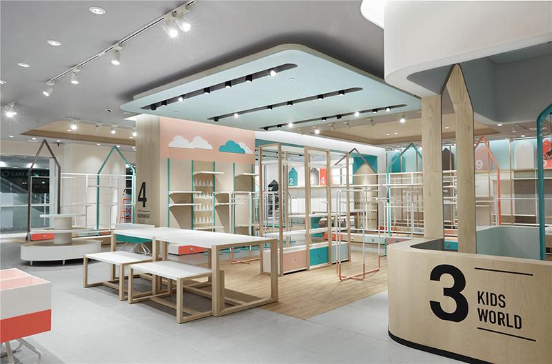 品牌童装店装修设计-卓创装饰