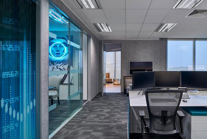 办公室装修设计实景-卓创装饰