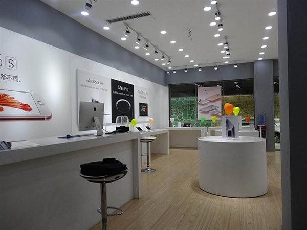 合肥手机专卖店装修-小型手机专卖店设计效果图