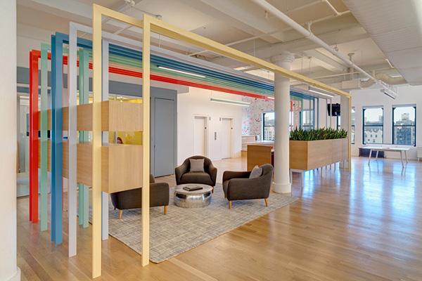 科技公司办公室装修风格