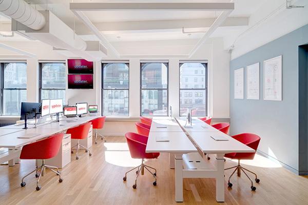 科技公司办公室大厅设计