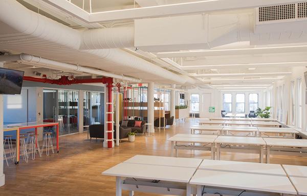 科技公司办公室装修设计案例效果图