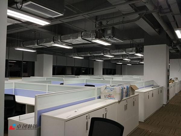 1300平办公室装修改造布局方案