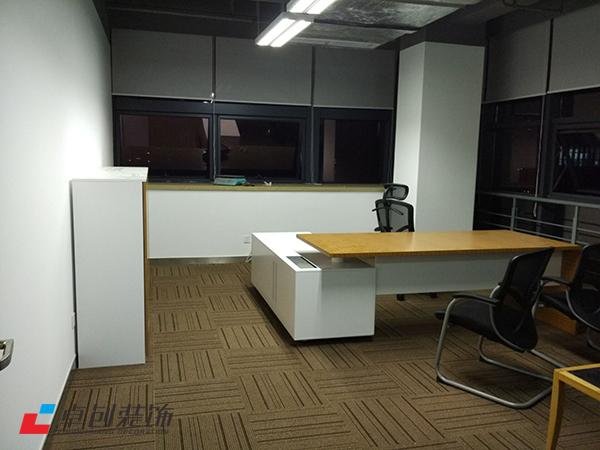 1300平办公室经理室装修设计