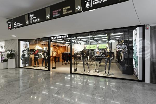 40平方米的男装店怎样装修