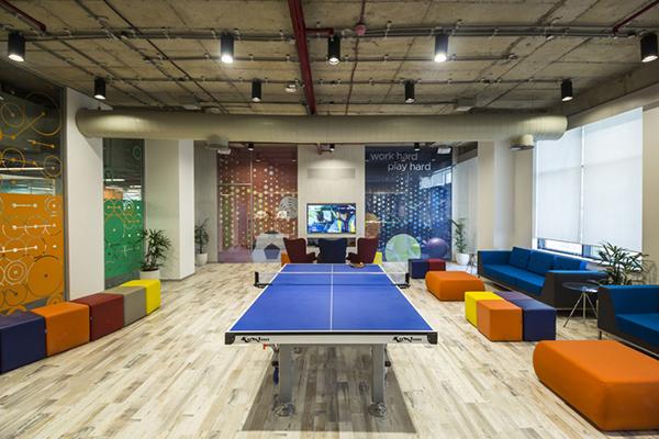 休闲舒适简约的办公休闲区如何设计?