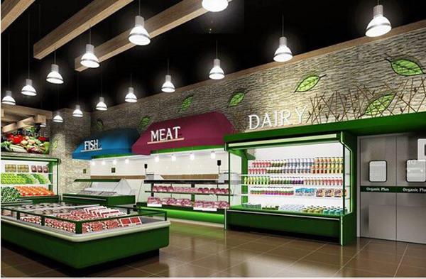 吸引人的合肥超市装修效果图赏析