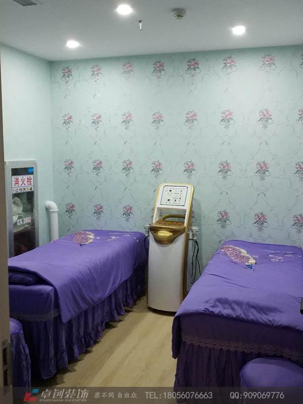 服务项目 办公室装修设计  美容店是传播美的场所,店面形象墙设计是一图片