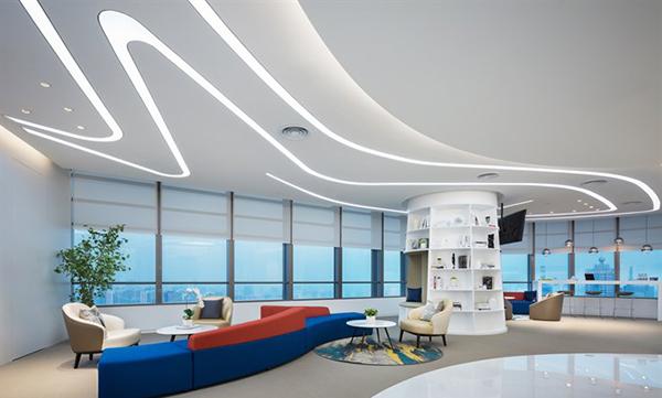 1300平简约风格办公室设计案例