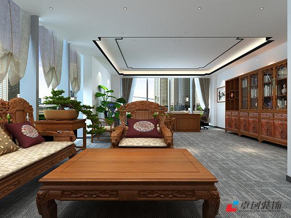 合肥太平洋森活广场400平办公室装修设计图
