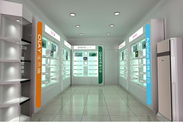 化妆品店装修效果图