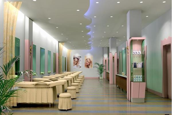 美容店装修效果图
