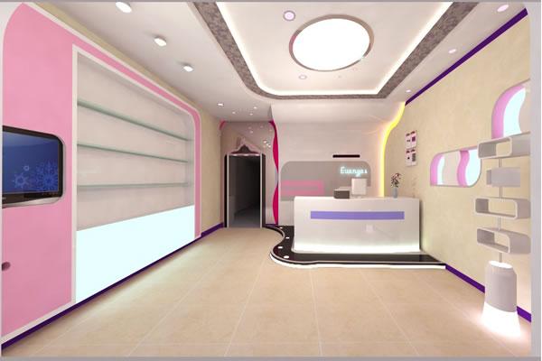 美容店装修效果图-服务项目-卓创建筑装饰