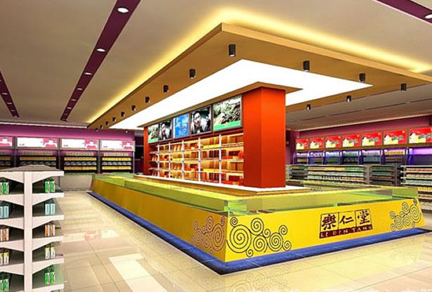药店装修设计-服务项目-卓创建筑装饰
