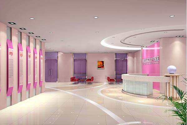 医院装修效果图-服务项目-卓创建筑装饰